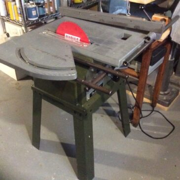 DIY Table Saw and Router Table